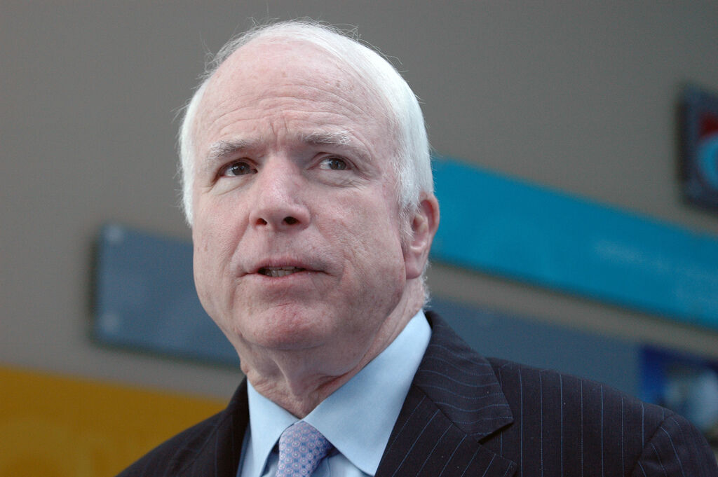 Falling In and Out  of Love—Again—with John McCain