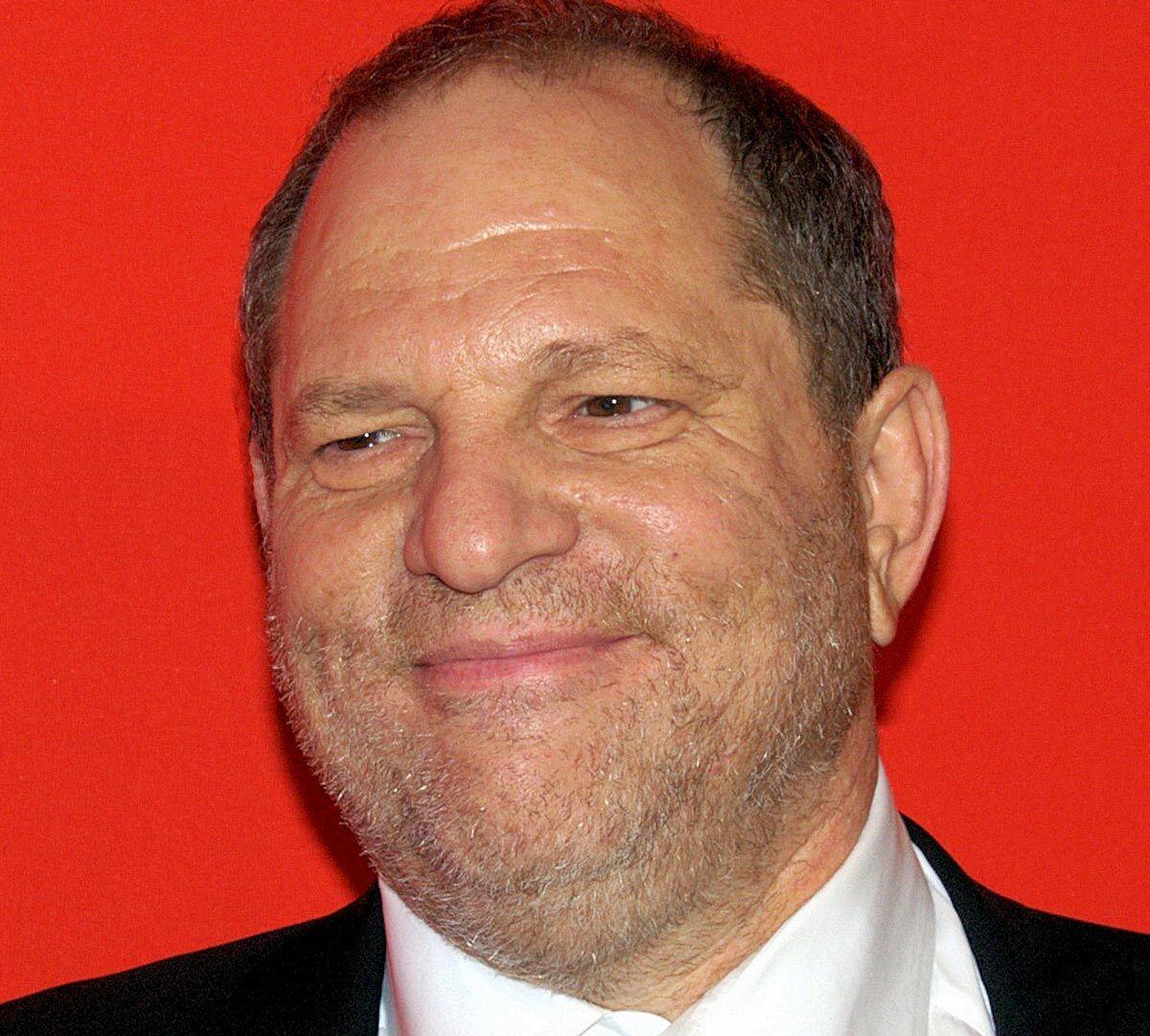 Harvey Weinstein smiling