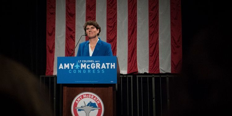 Will Amy McGrath Get the Celebrity Treatment?