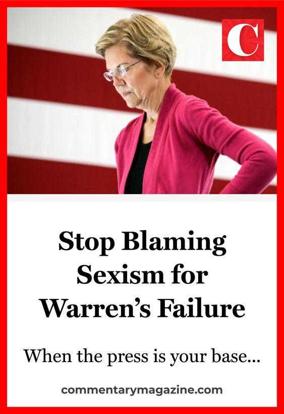 Elizabeth Warren didn't have a gender problem; she had a trust and authenticity problem. #elizabethwarren via @commentarymagazine