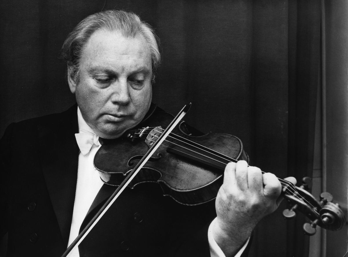 The Binding of Isaac Stern via @commentarymagazine